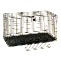Pet Lodge Large Wire Pop-up Rabbit Cage 37 in