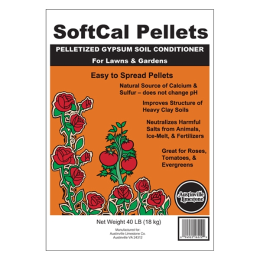 SoftCal Pellets Gypsum Soil Conditioner 40 lb