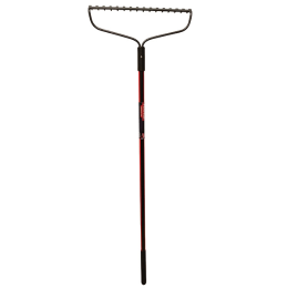 Southern States Bow Rake 16-Tine With Overmold Fiberglass Long Handle