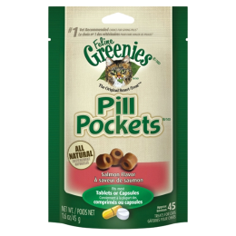Greenies Pill Pockets for Cats Salmon 1.6 oz