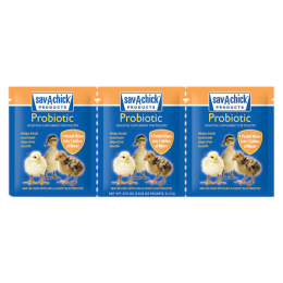 Sav-A-Chick Probiotic Supplement 3 Pack