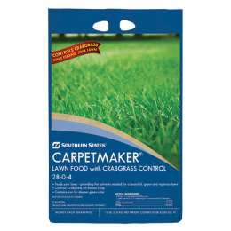 Southern States Carpetmaker Lawn & Garden Food with Crabgrass Control 28-0-4