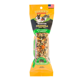 Sun Seed Vita Grainola Carrot/Parsley Treat Bar For Rabbits, Guinea Pigs & Chinchillas