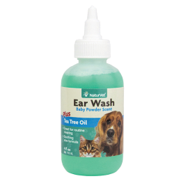 Naturvet Ear Wash With Tea Tree Oil 4 oz