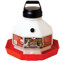 Little Giant Automatic Plastic Poultry Waterer 3 gal