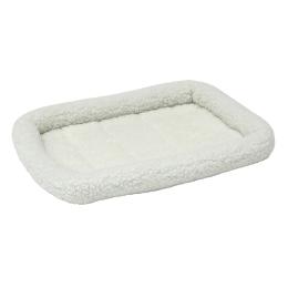 Mid West White Quiet Time Pet Bed