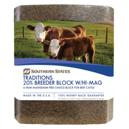 Southern States Traditions 20% Breeder Block w/Hi-Mag 33 1/3 lb