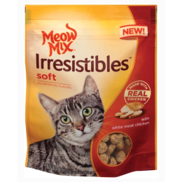 Meow Mix Irresistibles Soft Cat Treats Chicken 3 oz