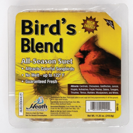 Heath High Energy Bird 's Blend Suet 11 oz