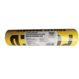 Tyvek Posted Sign Roll 100 piece