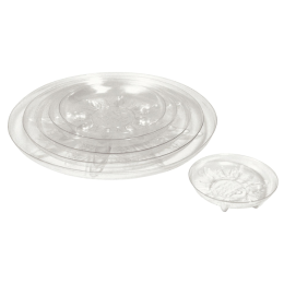 Bond Heavy Duty Plastic Saucer Clear