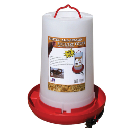 Farm Innovators Heated Poultry Fountain 3 gal