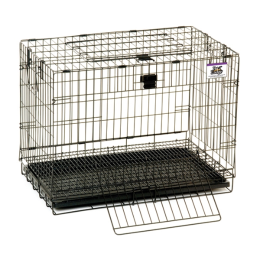 Pet Lodge Small Wire Pop-up Rabbit Cage 24 in