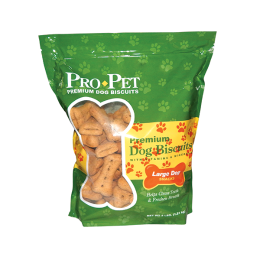 Pro Pet Premium Plain Dog Biscuits Large 4 lb