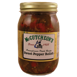McCutcheons Red Sweet Pepper Relish 16 oz