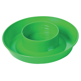 Little Giant Screw-On Poultry Waterer Base Lime Green