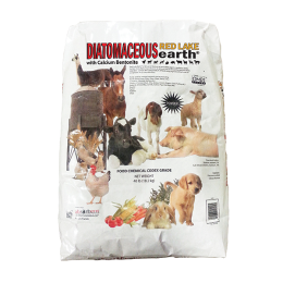 Red Lake Earth Diatomaceous Earth With Calcium Bentonite 40 lb