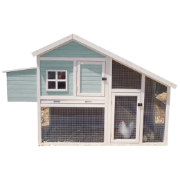 Nantucket Chicken Coop 73.6 in x 32 in x 48 in