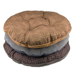 DMC Pet Bed Tufted Reversible Mixed 35 in