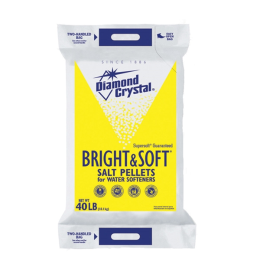 Diamond Crystal Bright & Soft Salt Pellets 40 lb