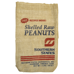 Southern States Shelled Raw Peanuts 3 lb