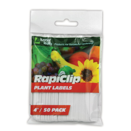Luster Leaf Rapiclip Plant Label White 4 in Pack of 50