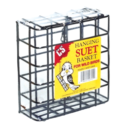 C&S Hanging Suet Basket Small
