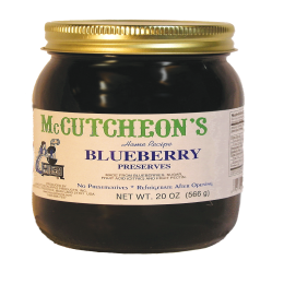McCutcheon 's Blueberry Preserves 20 oz