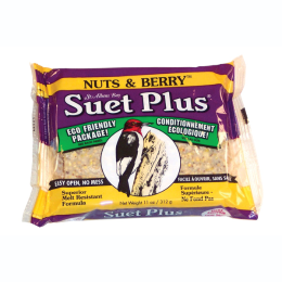 Suet Plus Nuts & Berry Blend Suet Cake 11 oz