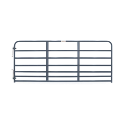 Tarter 7 Bar Heavy-Duty Standard Bull Gate Blue 10 ft