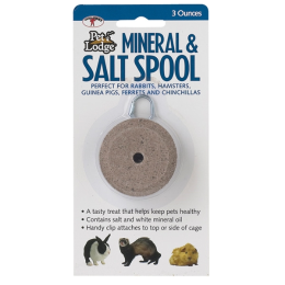 Pet Lodge Mineral and Salt Spool with Hanger