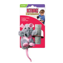 Kong Refillables Rat With Catnip Cat Toy