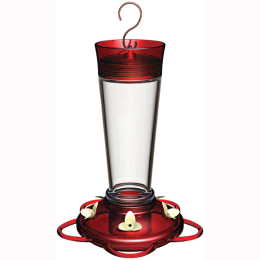 Classic Brands Ruby Hummingbird Feeder 10 oz