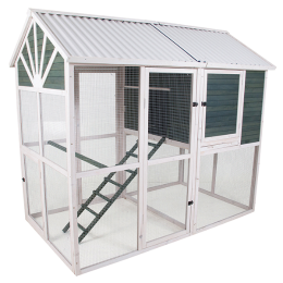 Precision Pet Sunrise Walk-In Chicken Coop
