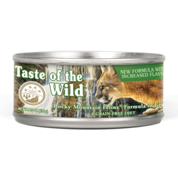 Taste Of The Wild Rocky Mountain Feline Formula Canned Cat Food 5.5 oz