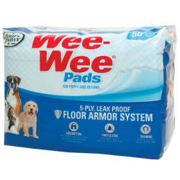 Four Paws Wee Wee Pads 50 Pack