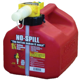 No-Spill Gasoline Can 1.25 gal