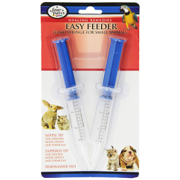 Four Paws Easy Feeder Hand Syringe For Small Animals 2 Pack