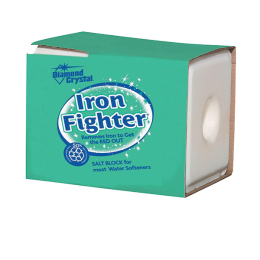 Diamond Crystal Iron Fighter Salt Block For Water Softeners 50 lb