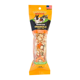 Sun Seed Vita Grainola Carroty Crunch Treat Bar For Rabbits, Guinea Pigs & Chinchillas