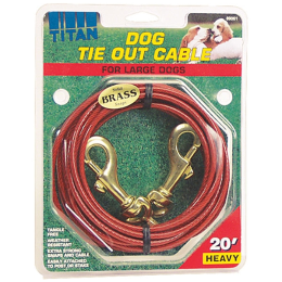 Coastal Pet Titan Heavy Cable Dog Tie Out 20 ft
