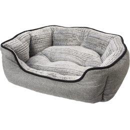Sleep Zone Clam Shell Bed Grey 21 in