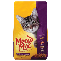 Meow Mix Original Choice Dry Cat Food 6.3 lb