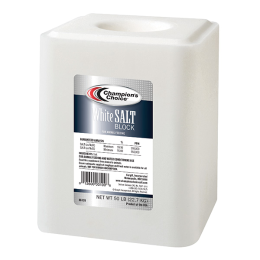 Champions Choice White Salt Block 50 lb
