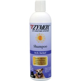 Zymox Itch Relief Therapy Shampoo 12 oz