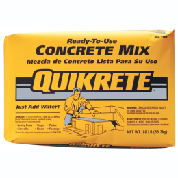 Quikrete Ready To Use Concrete Mix 80 lb