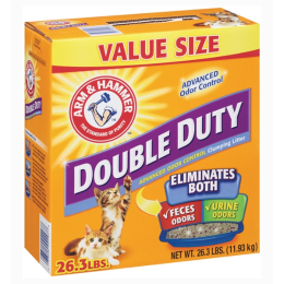 Arm & Hammer Double Duty Clumping Litter 26.3 lb