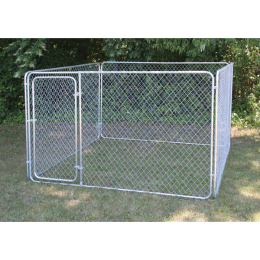 Stephens Pipe & Steel Complete Kennel 10 ft x10 ft x 6 ft Bronze