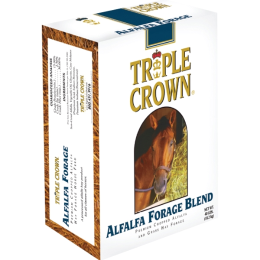 Triple Crown Alfalfa Forage Blend for Horses 40 lb