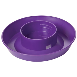 Little Giant Screw-On Poultry Waterer Base Purple